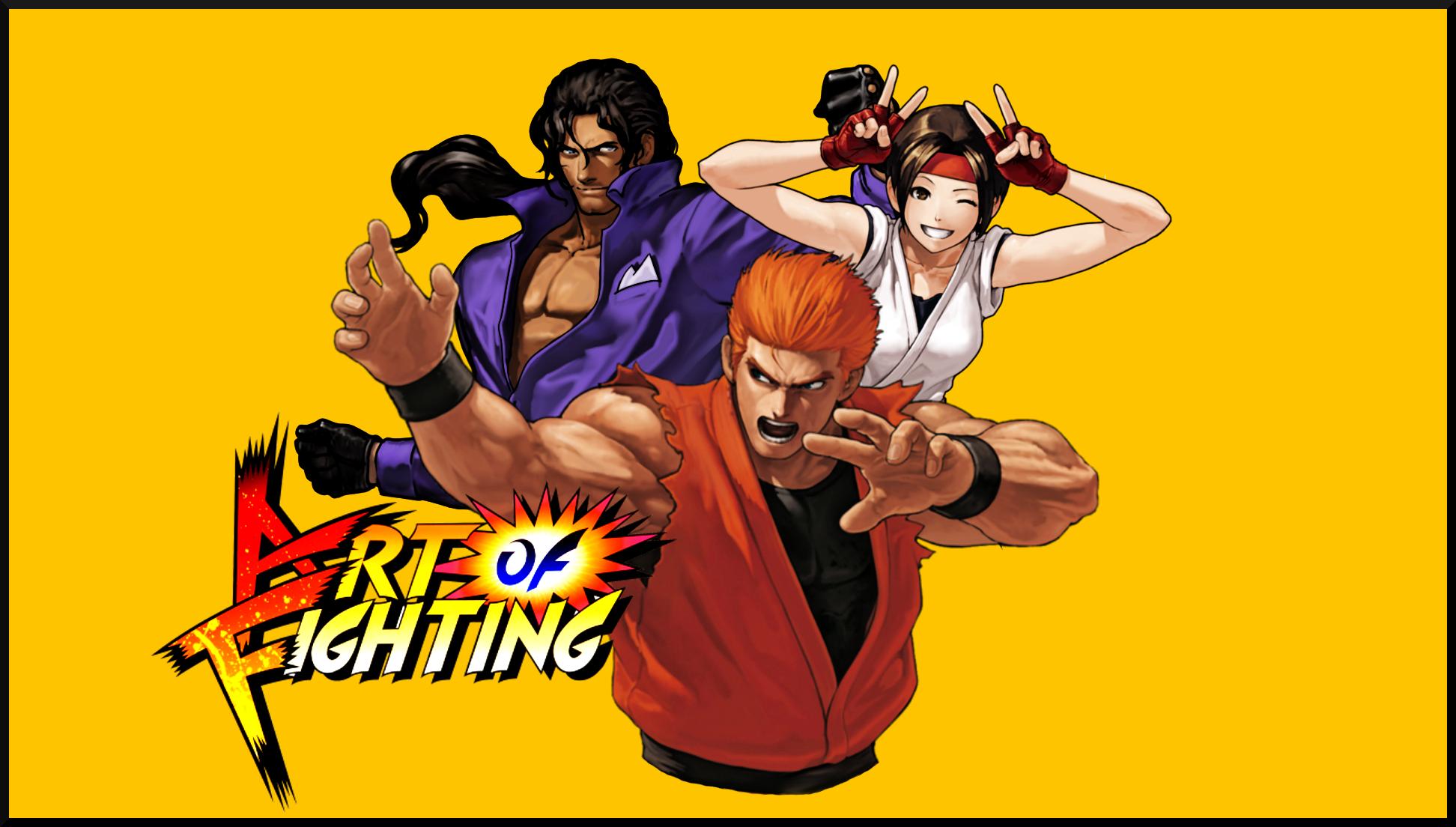 Kof Art Of Fighting Team By Topdog4815 On Deviantart