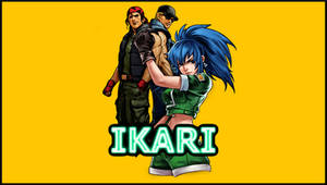 KOF Ikari Worriors Team