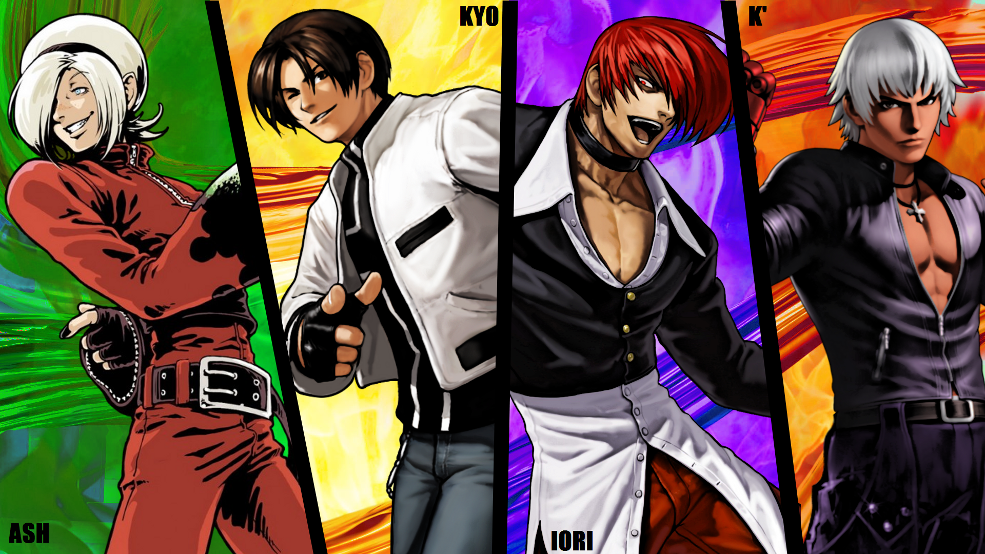 King of fighters kyo vs iori