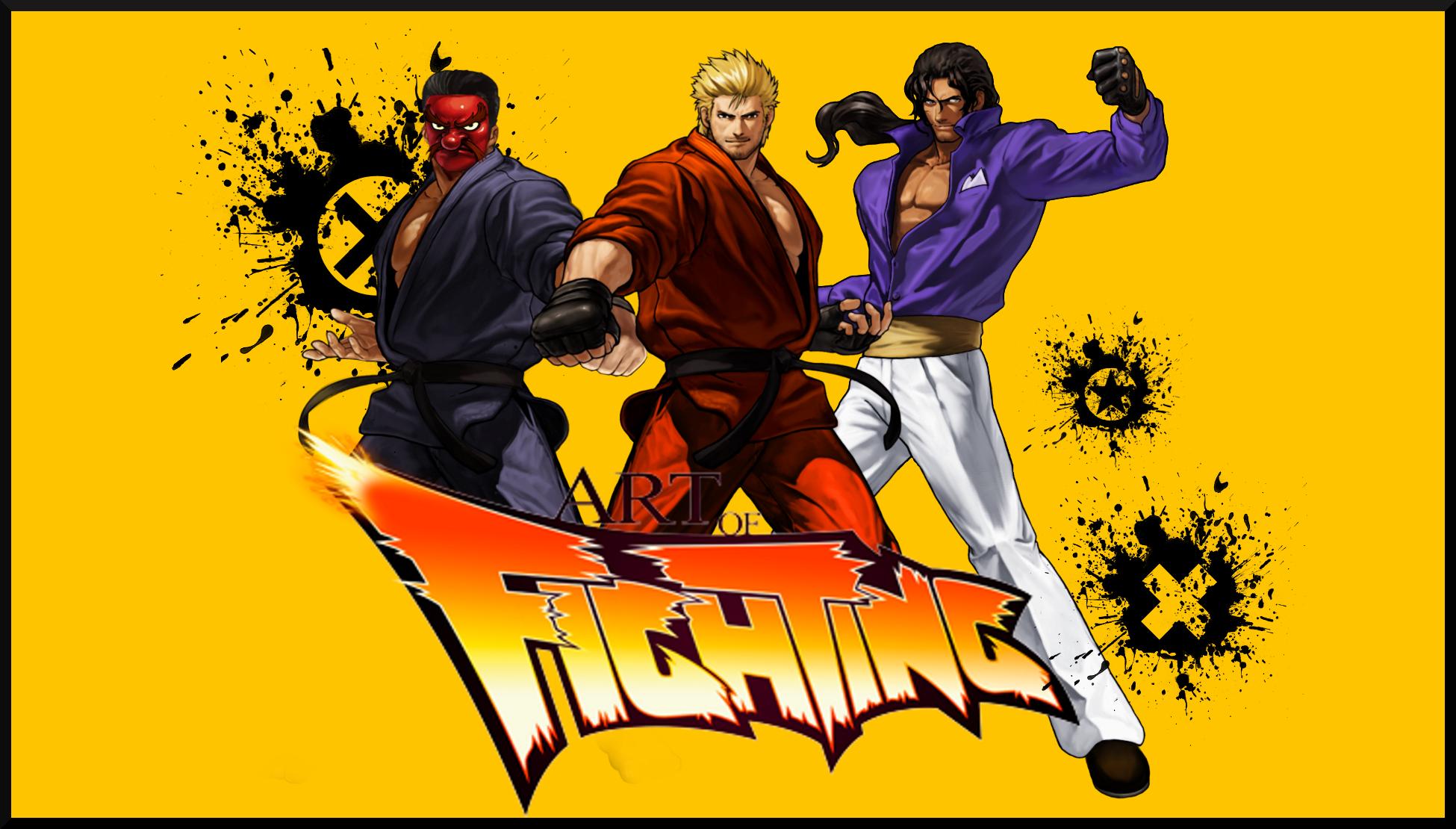 Kof Art Of Fighting Kyoguken Ryu Team By Topdog4815 On Deviantart
