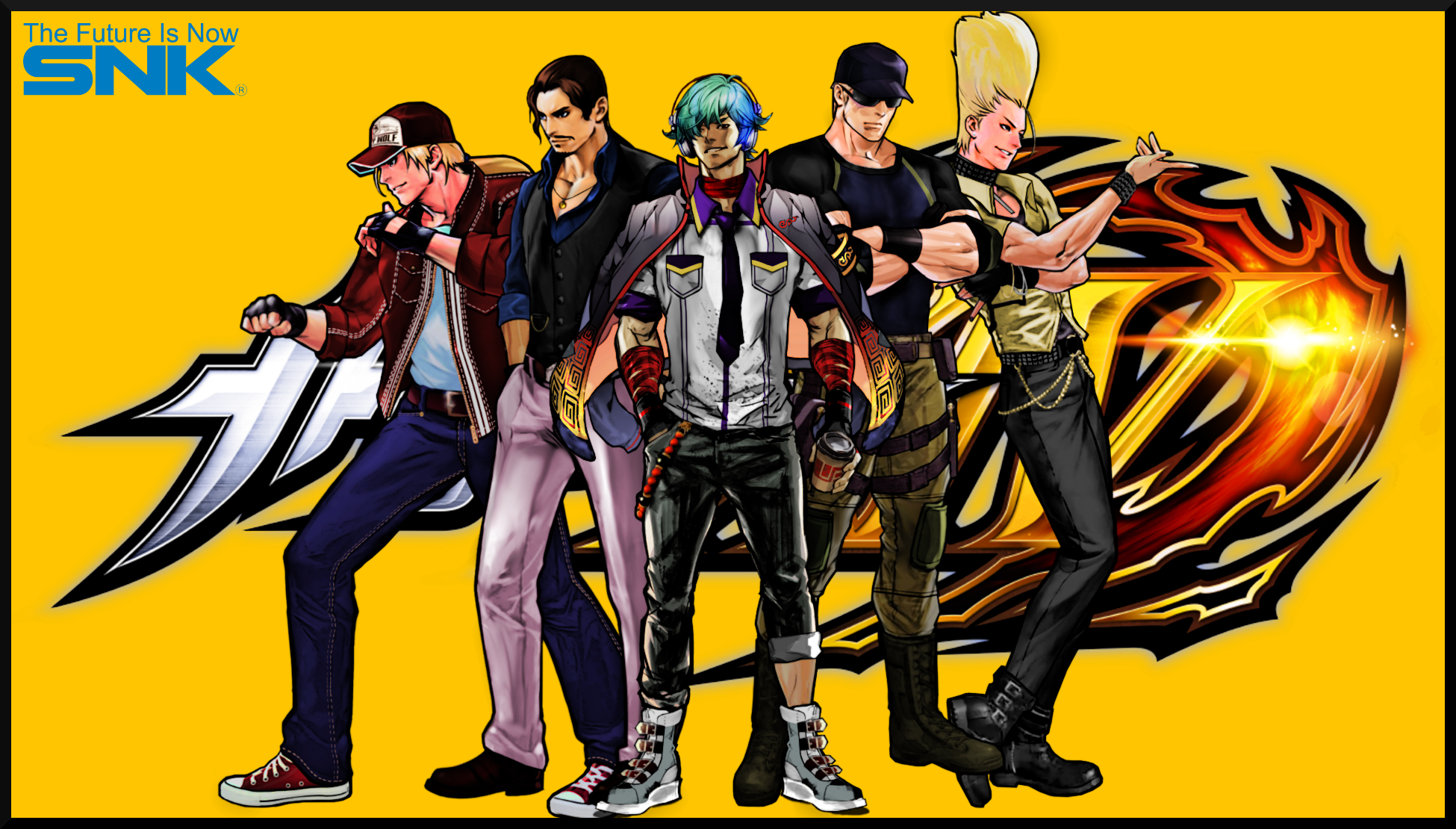 The King Of Fighters Xiv Wallpaper By Topdog4815 On Deviantart