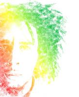 Bob Marley Typography by freshgraphics