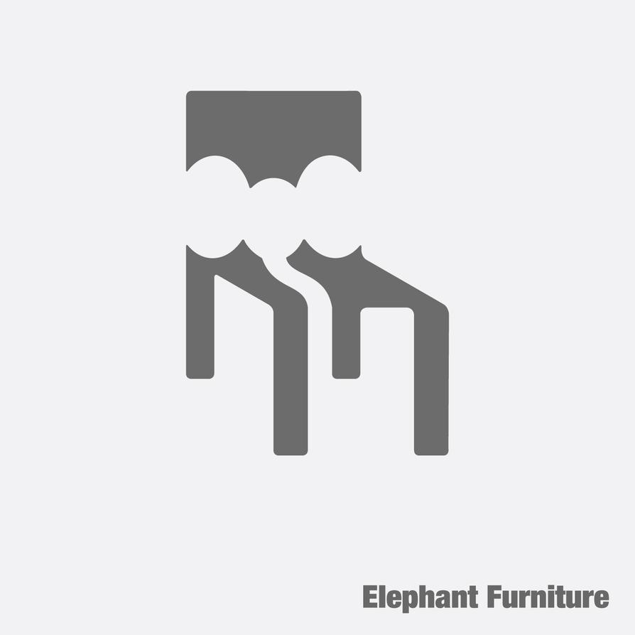 Logo Elephant Furniture by freshgraphics