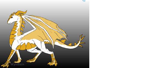 Dragon For Jewls-ya by seffykoepsel