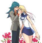 Yugioh GX Ryo x Asuka with NAKA