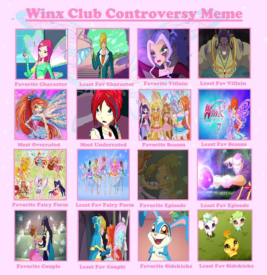 RIKITAKE 043 Winx Club Controversy Meme by Comicpinks123