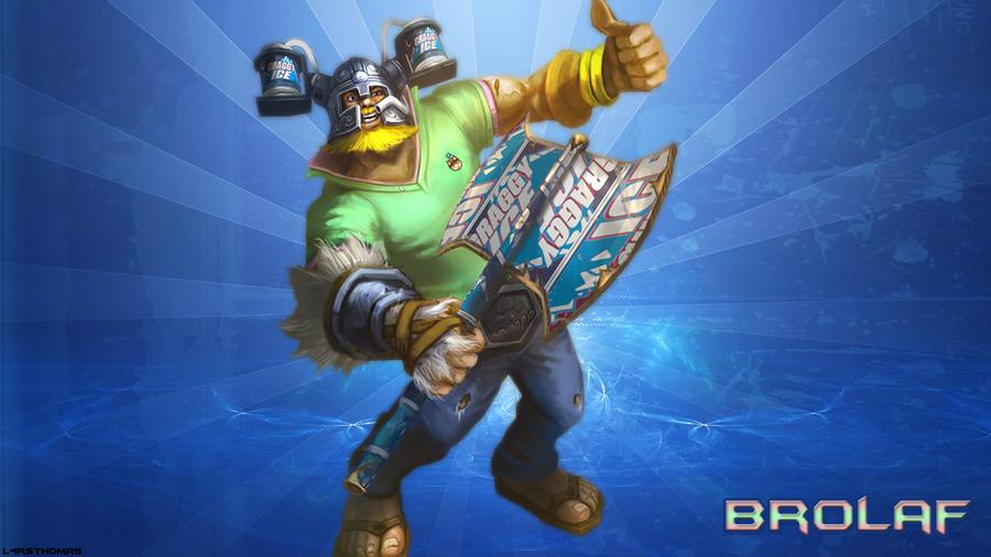 Brolaf League of Legends Skin Spotlight