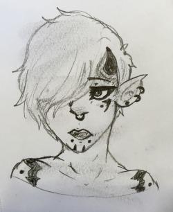 Just a demon boy by FoxyFai