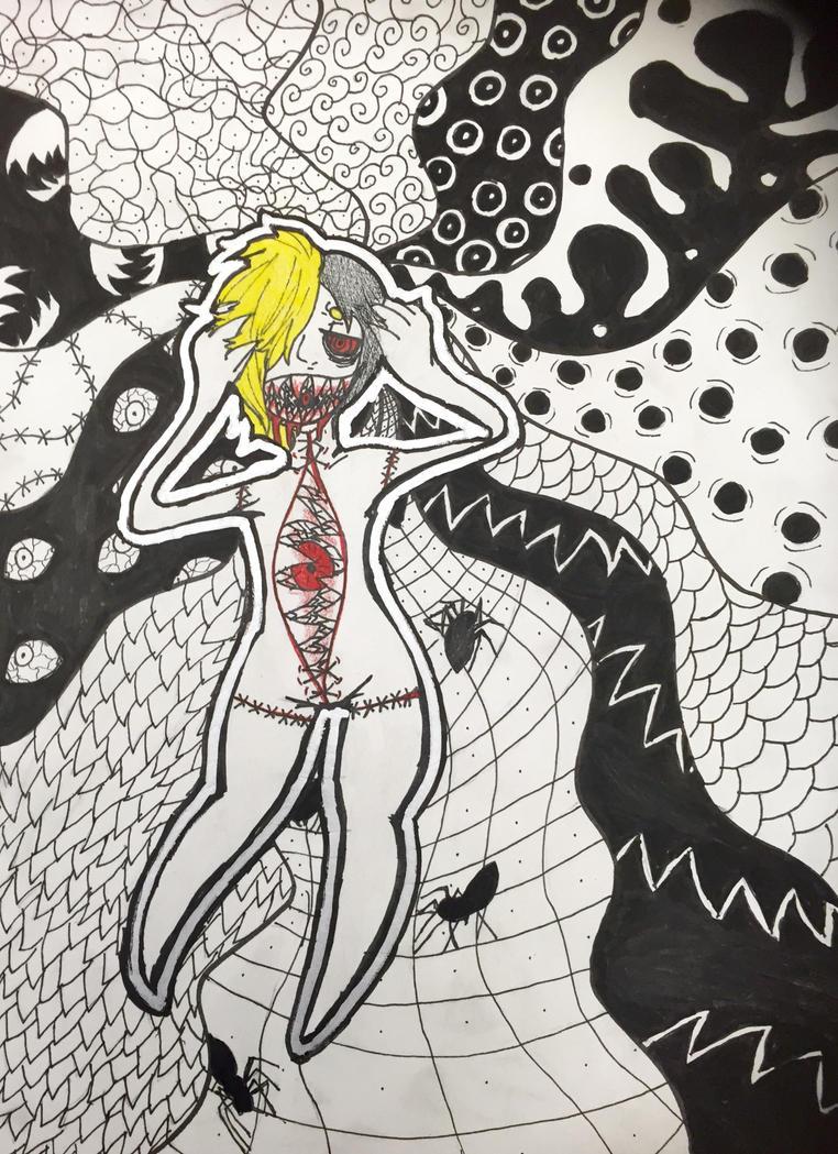 Crazy stress dream by FoxyFai