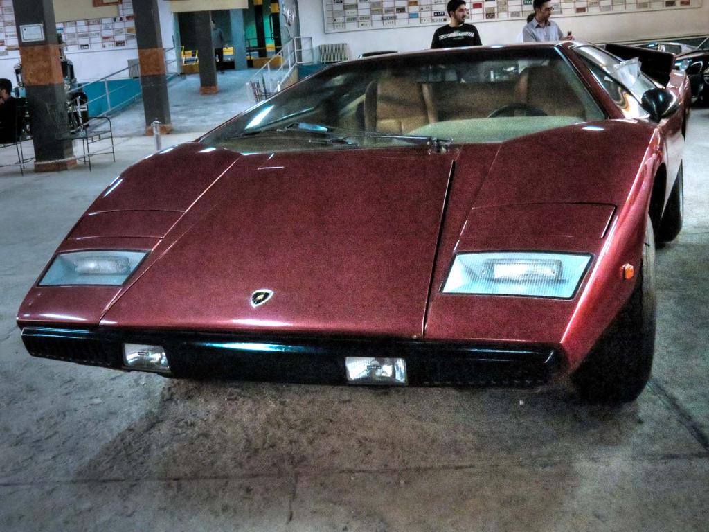 Countach LP400 - Tehran National Classic Car Musem by Daachgah