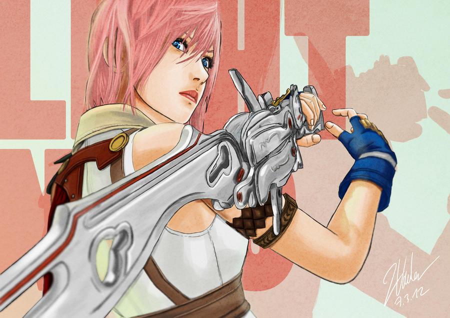 Final Fantasy XIII - Lightning by clanto