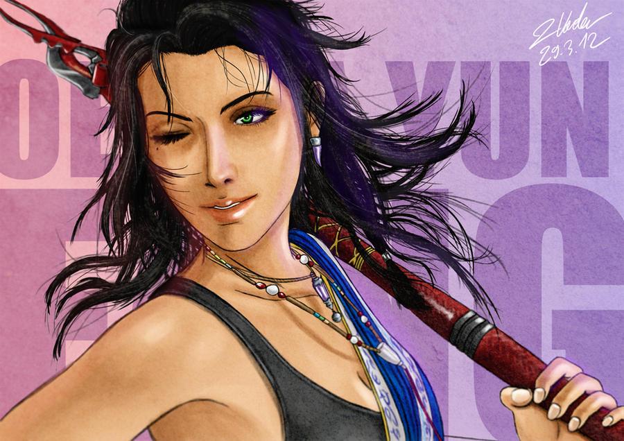Final Fantasy XIII - Oerba Yun Fang by clanto