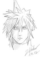Final Fantasy VII - Cloud Strife by twovader