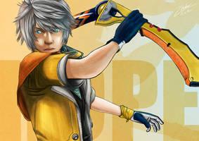 Final Fantasy XIII - Hope Estheim by twovader