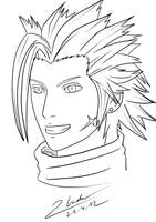 Final Fantasy VII - Zack Fair by twovader