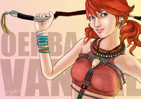 Final Fantasy XIII - Oerba Dia Vanille by twovader