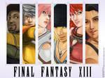 FF XIII Fanart Wallpaper