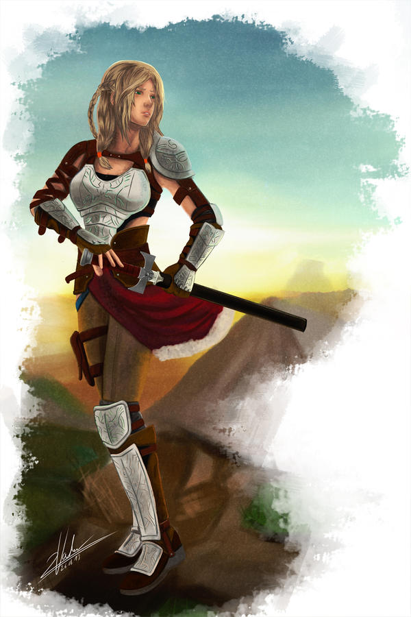 Freia - The Rise of Freedom 2 by twovader