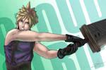 Final Fantasy VII - Cloud Strife (Fanart)