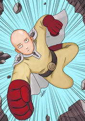 Let's Draw Manga #18 - Onepunch-Man by twovader