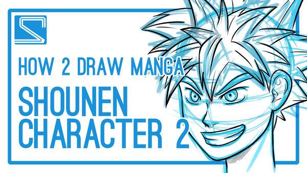 How2DrawManga - Shounen Character #2