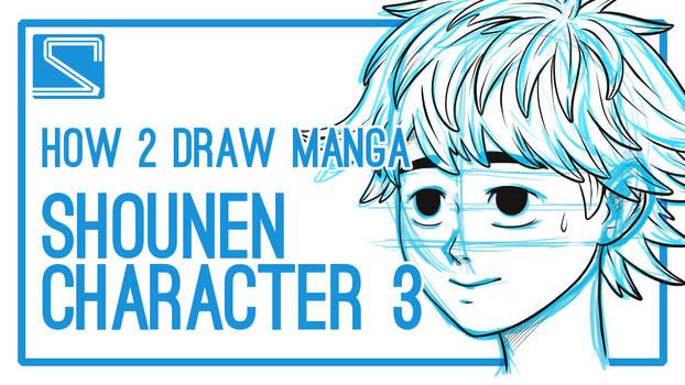 How2DrawManga - Shounen Character #3