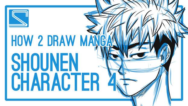 How2DrawManga - Shounen Character 4