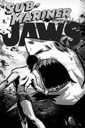 Namor VS Jaws by johnnyleisure