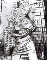 Supergirl by johnnyleisure