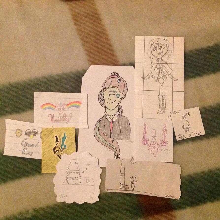 Mini Doodles #4 by Aquaandria on DeviantArt