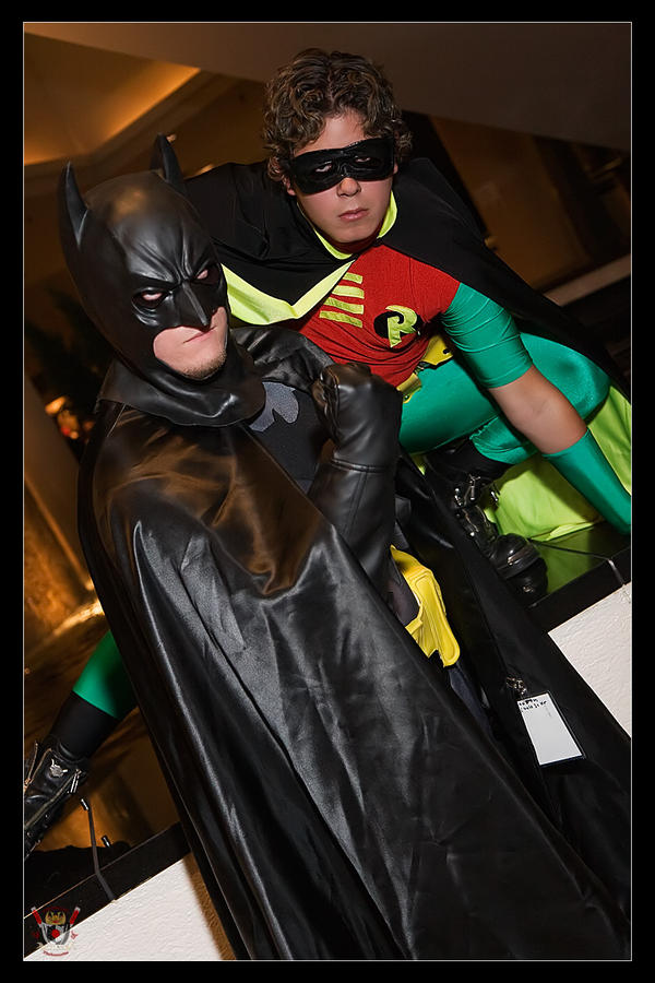 Batman and Robin - ACTION by Kuragiman