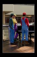 Mario Brothers - Three Tenors by Kuragiman