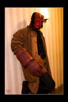 Hellboy - Breaktime by Kuragiman
