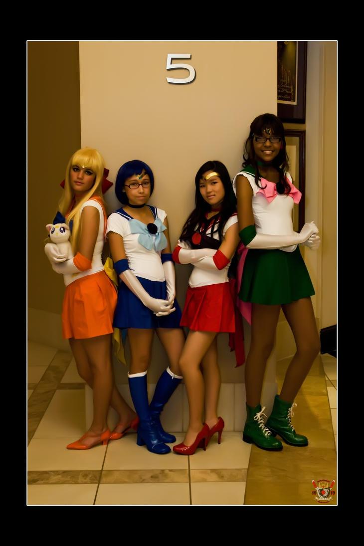 Sailor Moon - Five by Kuragiman
