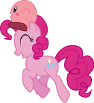 Pinkie Pie and Kirby