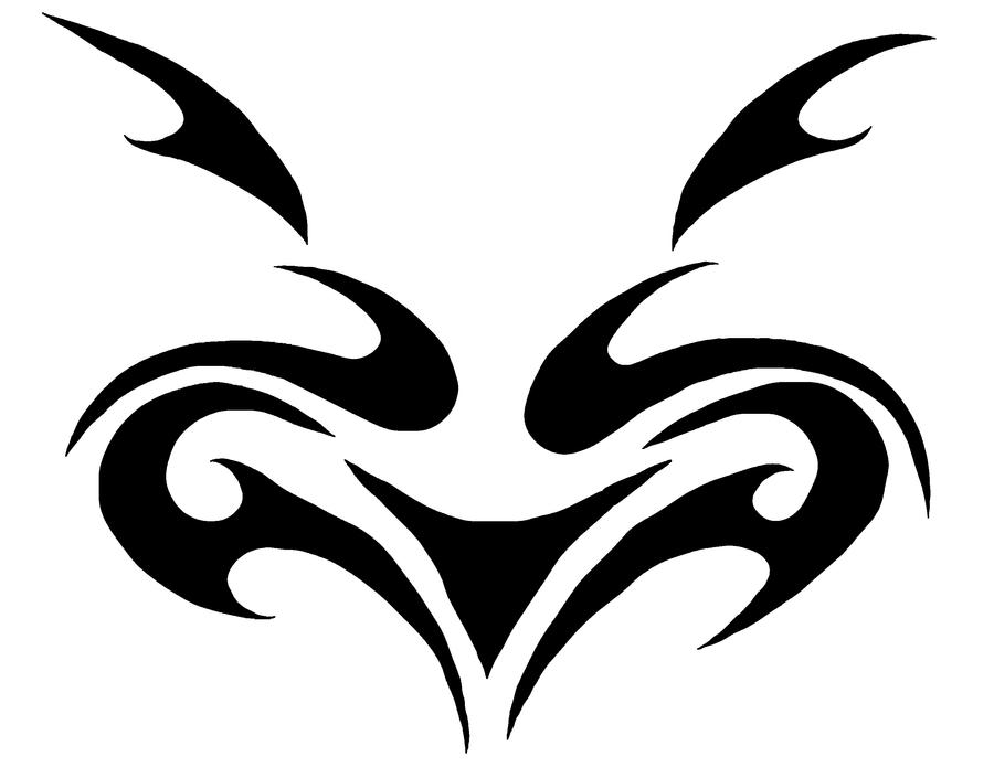 Tribal Wolf / Cat / Dog / Animal Tattoo Flash by RoMeR1 on ...