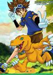 Digimon FR - Tai and Agumon