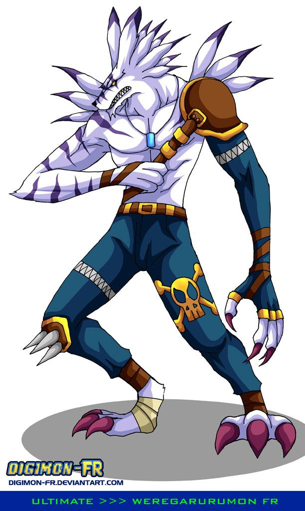 Ultimate - Weregarurumon FR by Digimon-FR on DeviantArt