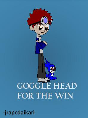 Davis - Goggle Head FTW by jrapcdaikari