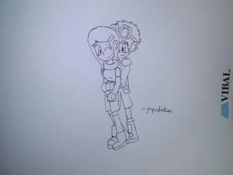 Sketch to Kill Boredom: DaiKari by jrapcdaikari