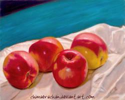 Still Life 1: Apples by GabrielleKelly