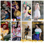 My 2015 cosplays! (Warning! : crappy montage) by Nafuri-chan