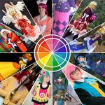 Cosplay chromatic circle challenge by Nafuri-chan