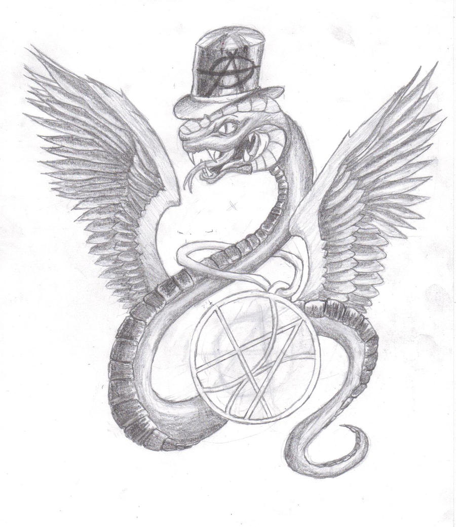 Snake Tattoo Line Drawing : Snake tattoo design final by kaiohse on deviantart