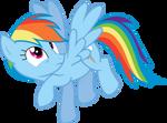 Rainbow Dash - dashing out