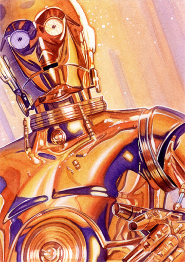 C-3P0 by roberthendrickson