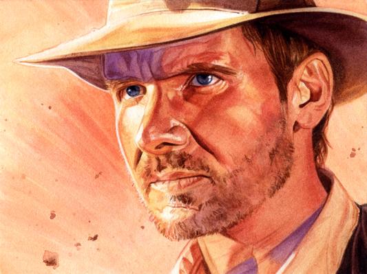 Indiana Jones - Raiders by roberthendrickson