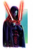 Asajj Ventress - Clone Wars by roberthendrickson