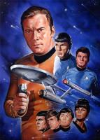 Star Trek by roberthendrickson