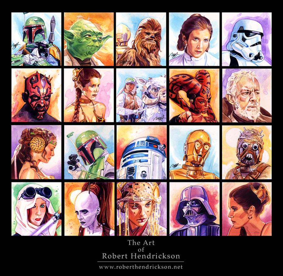Star Wars Portraits